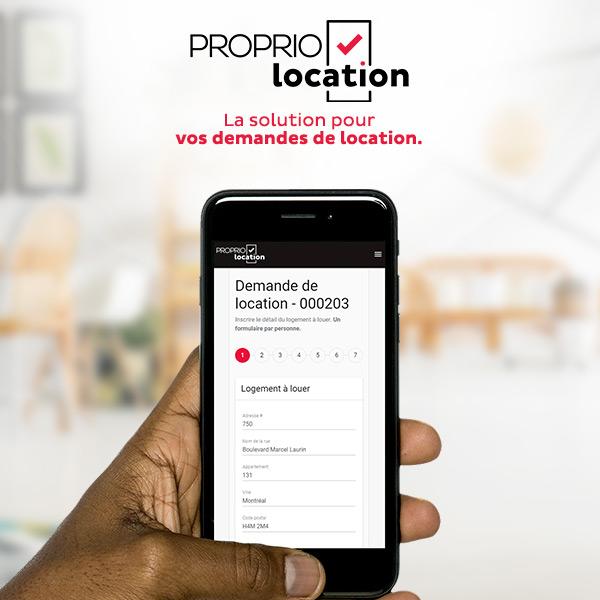 ProprioEnquête intègre la demande de location en ligne